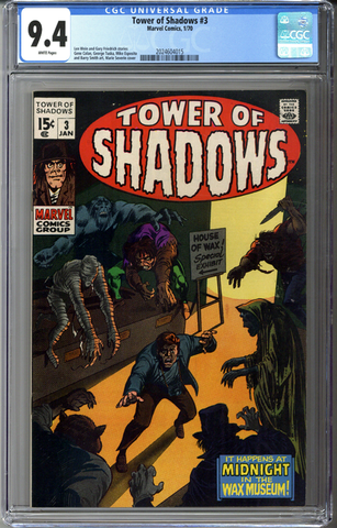 Tower of Shadows #3 CGC 9.4