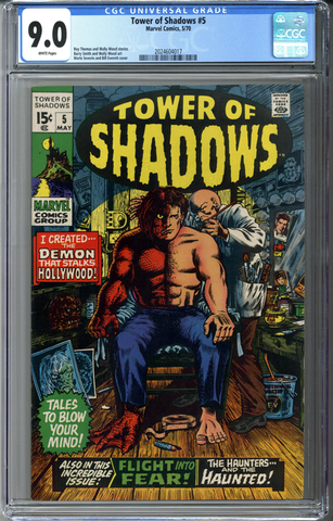 Tower of Shadows #5 CGC 9.0