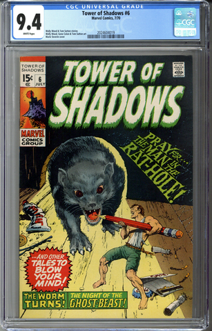 Tower of Shadows #6 CGC 9.4