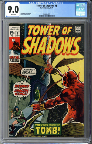 Tower of Shadows #8 CGC 9.0