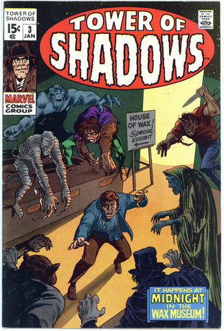 Tower of Shadows #3 F/VF