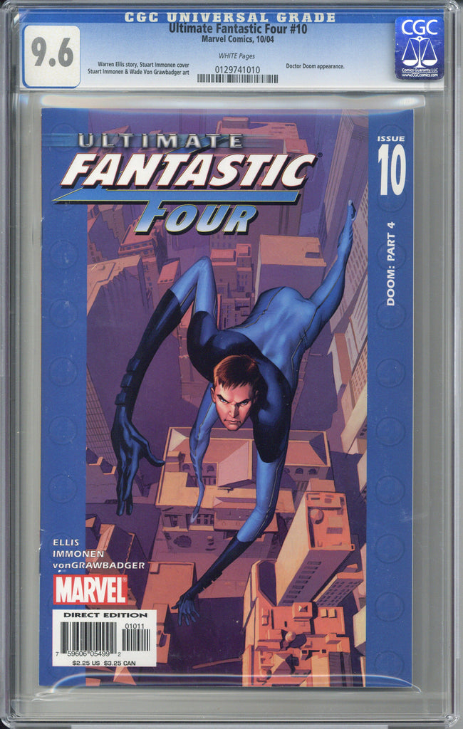 Ultimate Fantastic Four #10  CGC 9.6
