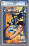 Ultimate Fantastic Four #2 CGC 10