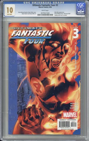 Ultimate Fantastic Four #3 CGC 10