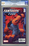 Ultimate Fantastic Four #8 CGC 9.9 MINT