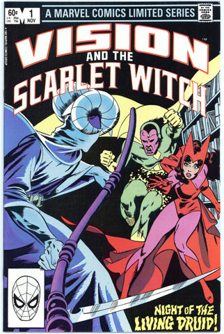 Vision and the Scarlet Witch Limited Series #1 thru 4 NM+ (complete set)