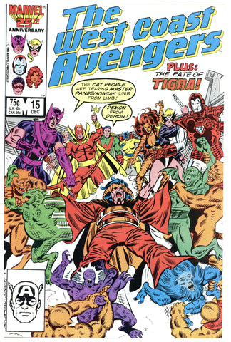 West Coast Avengers #15 NM