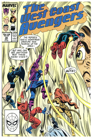 West Coast Avengers #32 NM+