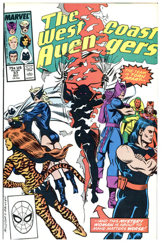 West Coast Avengers #37 NM+