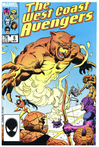 West Coast Avengers #6 NM