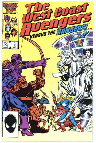 West Coast Avengers #8 NM+