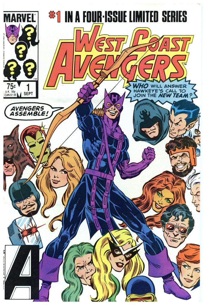 West Coast Avengers Limited Series #1 NM-
