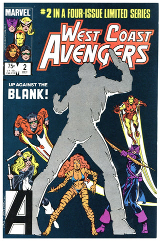 West Coast Avengers Limited Series #2 NM+