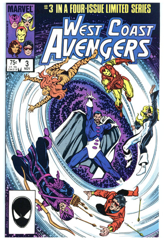 West Coast Avengers Limited Series #3 NM+