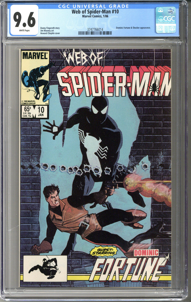 Web of Spider-man #10 CGC 9.6