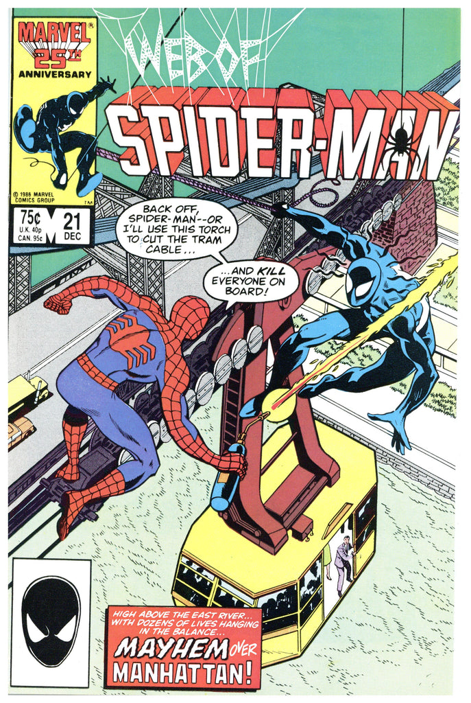 Web of Spider-man #21 NM+