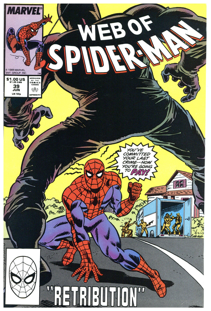 Web of Spider-man #39 NM+