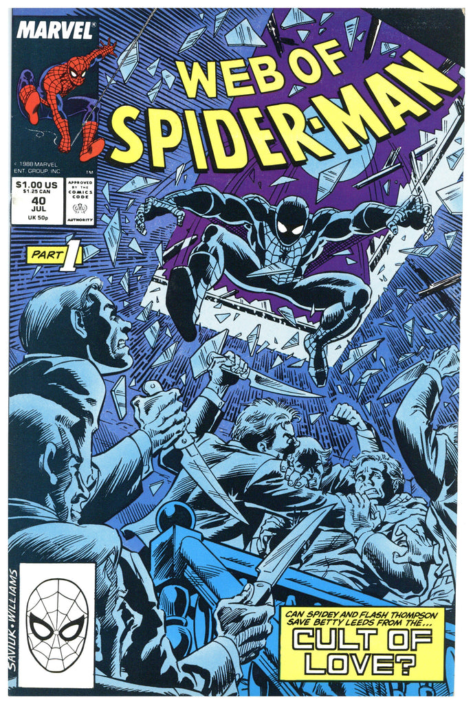 Web of Spider-man #40 NM
