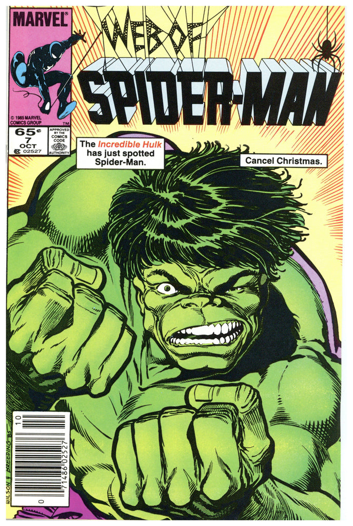 Web Of Spider-man #7 VF/NM