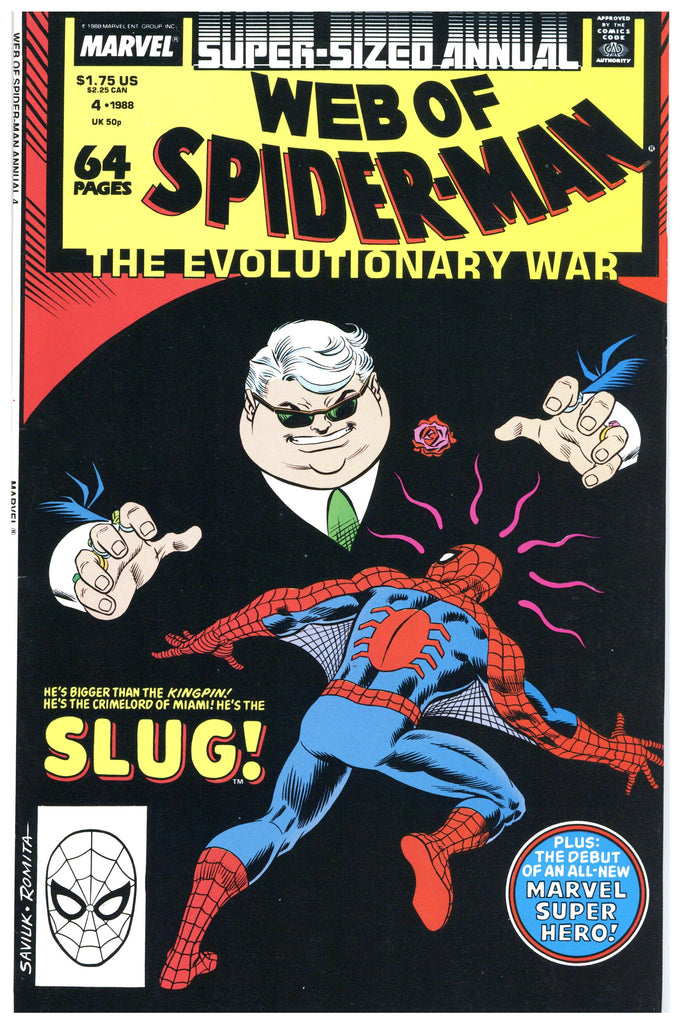 Web of Spider-man Annual #4 VF/NM