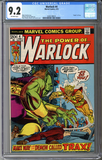 Colorado Comics - Warlock #4  CGC 9.2