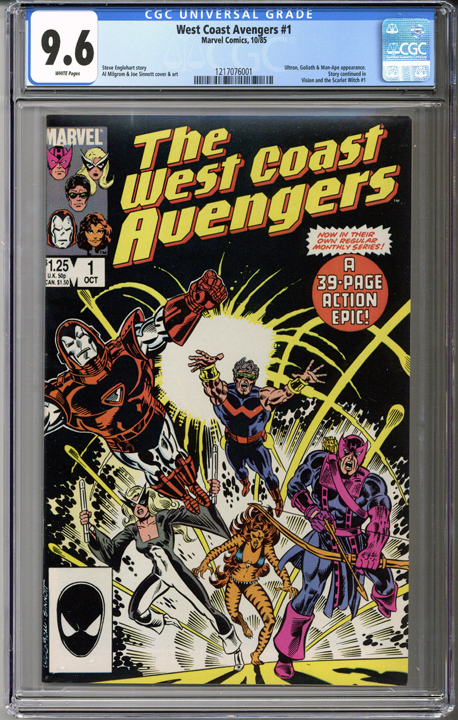 Colorado Comics - West Coast Avengers #1  CGC 9.6