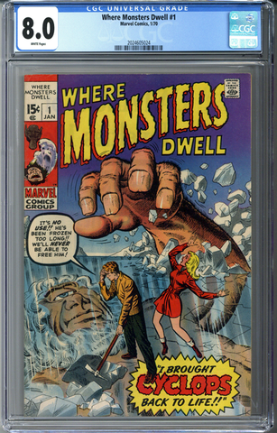 Where Monsters Dwell #1 CGC 8.0