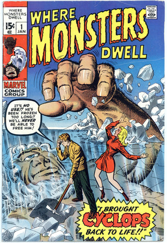 Where Monsters Dwell #1 Fine-