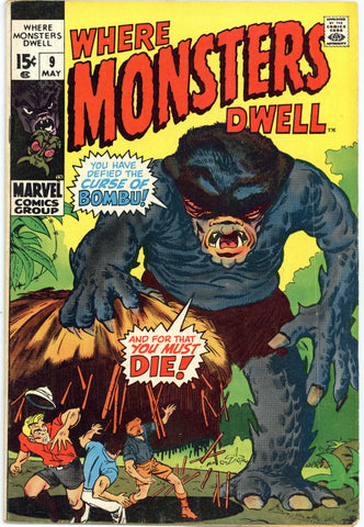 Where Monsters Dwell #9 Fine-
