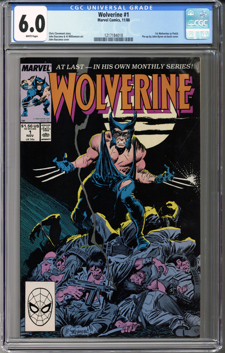 Colorado Comics - Wolverine #1  CGC 6.0