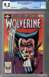 Wolverine Limited Series #1 CGC 9.2