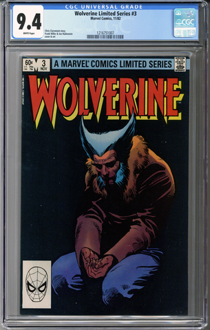 Wolverine Limited Series #3 CGC 9.4