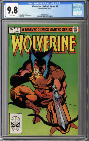 Wolverine Limited Series #4 CGC 9.8