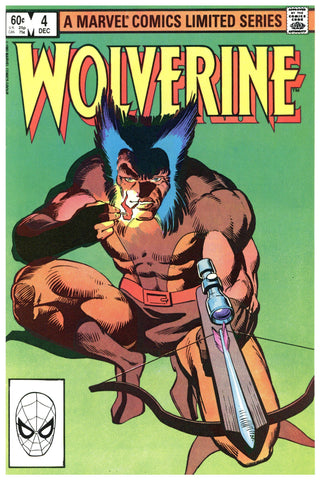 Wolverine Limited Series #4 NM-