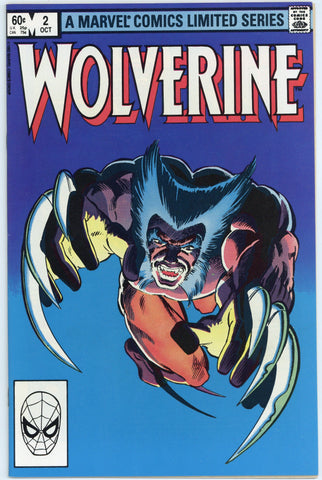 Wolverine Limited Series #2 NM-