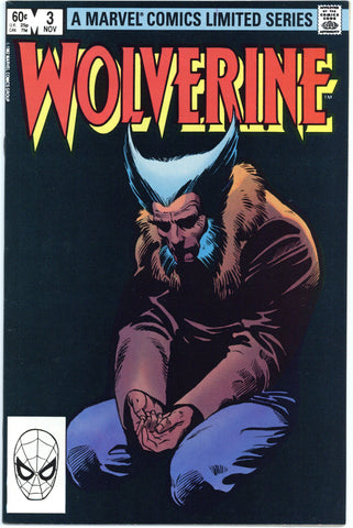 Wolverine Limited Series #3 NM-
