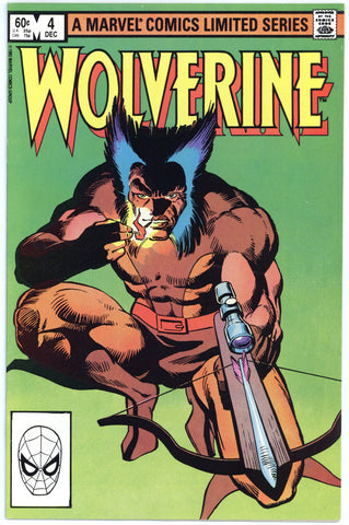 Wolverine Limited Series #4 VF/NM