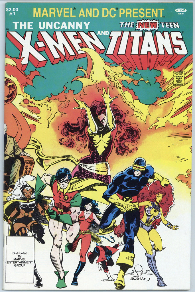 Colorado Comics - Uncanny X-Men and Teen Titans #1  NM