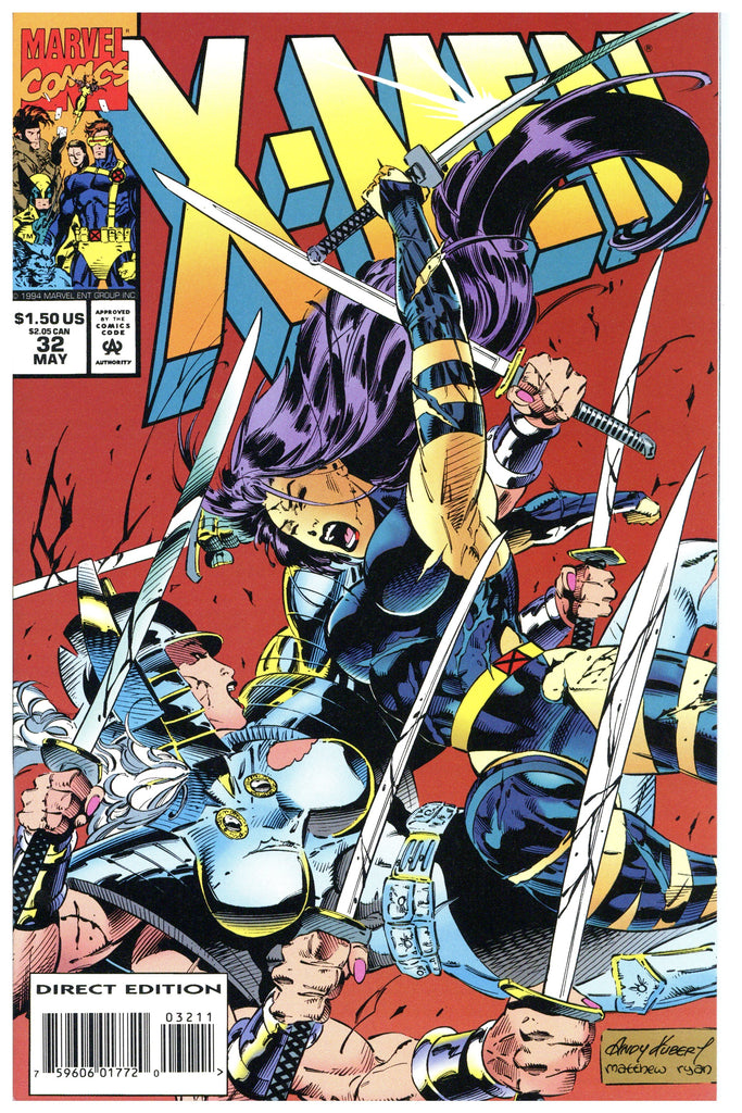 X-Men (second series) #32 NM+