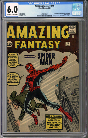 Colorado Comics - Amazing Fantasy #15 CGC 6.0