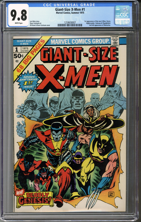 Giant-Size X-Men #1 CGC 9.8