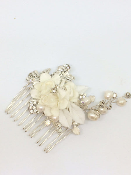 Trixie - Ivory Bridal Comb