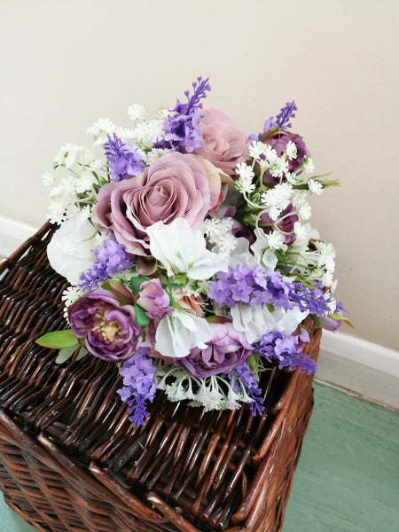 Cottage Flowers Bridal Bouquet