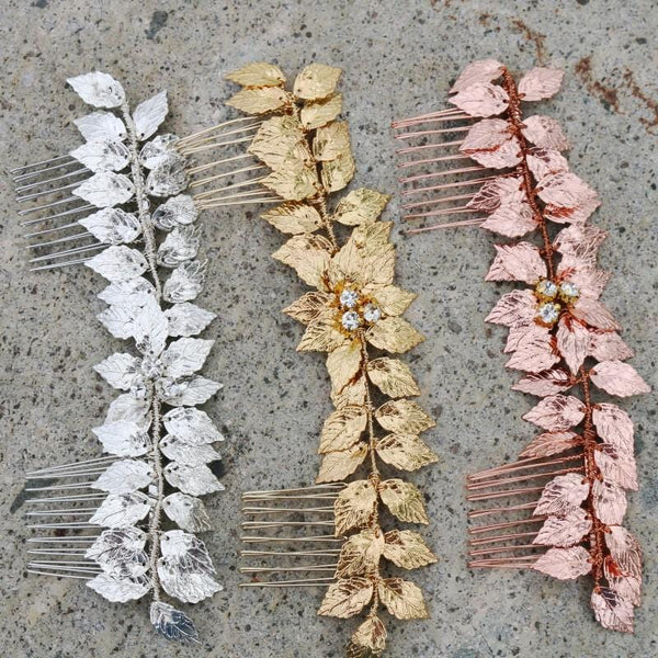 Olive Hair Comb
