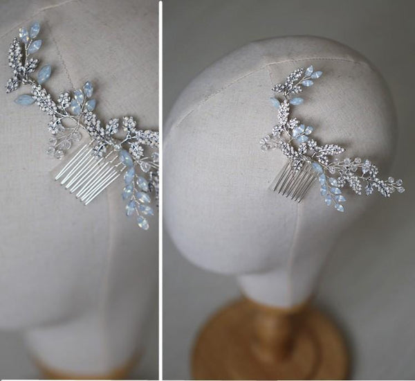 Cherry - Crystal Bridal Hair comb