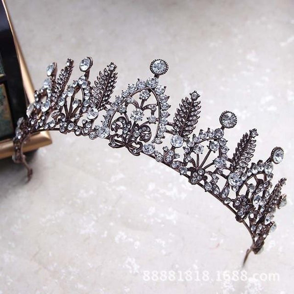 Baroque Vintage Wedding Head crown