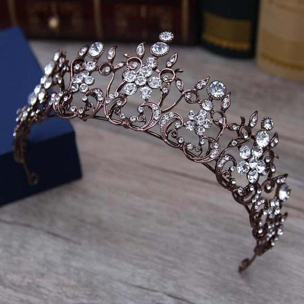 Antique Bridal Headcrown