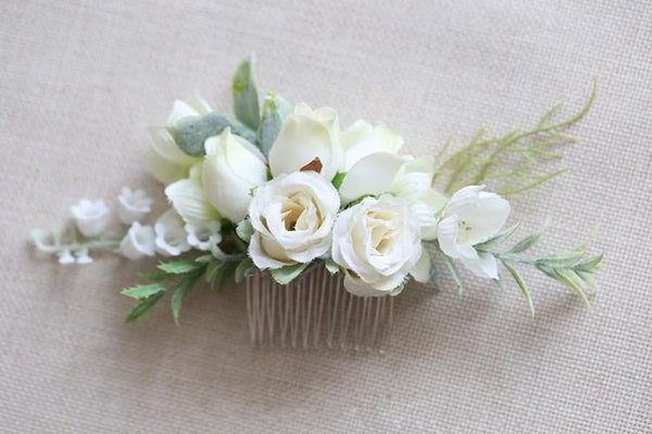 Gracie - Woodland Floral Hair Comb