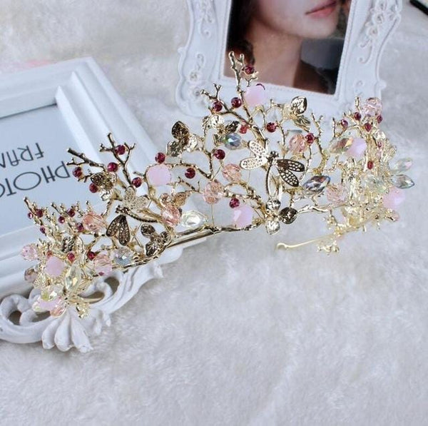 Vintage gold headcrown