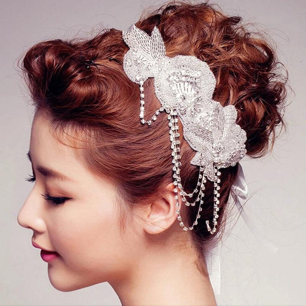 The Cleo Vintage Style Bridal Headband